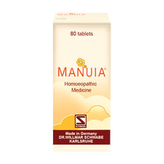 Manuia Homeopathic Tablets by Schwabe Germany